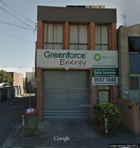 Greenforce Energy Company in Sydney, Solar design, supply and installations