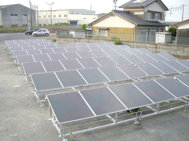 Sample Warehouse System Mitsubishi Solar System Design