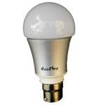 Energy efficient LED lamp bulb for standard bayonet fittings