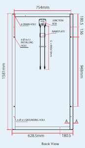 Solar Panel Standard Dimensions Solar System Design And